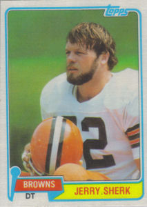Jerry Sherk 1981 Topps #149 football card