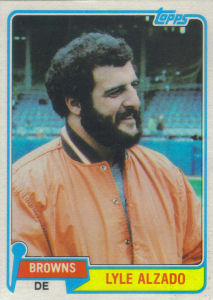 Lyle Alzado 1981 Topps #505 football card