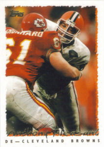Anthony Pleasant 1995 Topps #287 football card