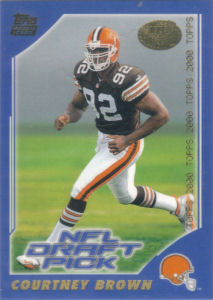 Courtney Brown Rookie 2000 Topps #373 football card