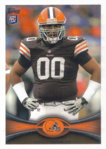 Billy Winn Rookie 2012 Topps #339 football card