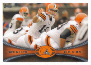 Browns Team Leaders 2012 Topps #418 football card