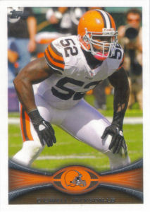 D'Qwell Jackson 2012 Topps #295 football card
