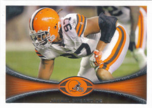 Jabaal Sheard 2012 Topps #114 football card