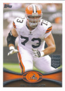 Joe Thomas 2012 Topps #198 football card