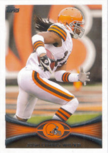 Josh Cribbs 2012 Topps #402 football card